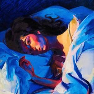 Melodrama album cover, by Brooklyn-based artist Sam McKinniss.