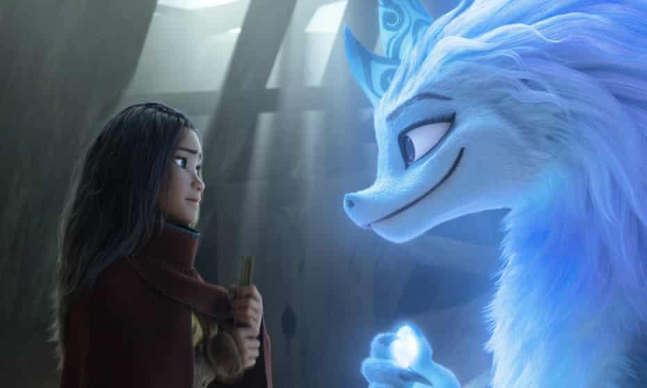 Locale hero ... Raya and the Last Dragon.