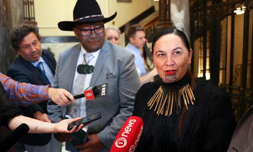 Maori Party co-leaders Rawiri Waititi and Debbie Ngarewa-Packer.