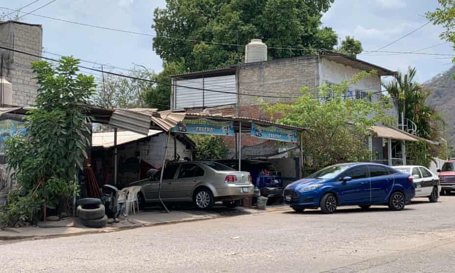 The carwash where Pineda was shot dead on 2 March 2017