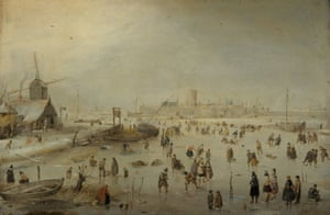Hendrick Avercamp, Winter Landscape, c 1630.