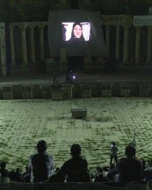 叙利亚电影节放映在叙利亚达拉
