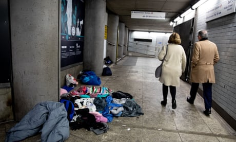 Westminster rough sleepers evicted after complaint by Commons chaplain