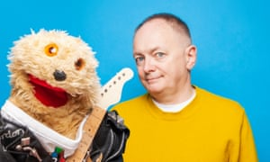'Unfortunately, Gordon got a bit too interested in the old cactus juice, which put people off working with him – you know how it is': Paul Smith with Gordon the Gopher.