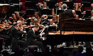 Igor Levit and the BBCSO in Prom 1.