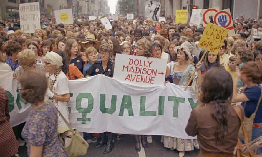Women's liberation rally in New York City, Aug. 26, 1971.