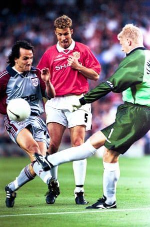 Manchester United v Bayern Munich. 1999 European Cup Final, Barcelona.