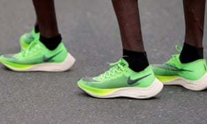 Nike's Vaporfly have been been dominant as eight of the top 12 men's or women's marathon times have been set in the last 18 months.
