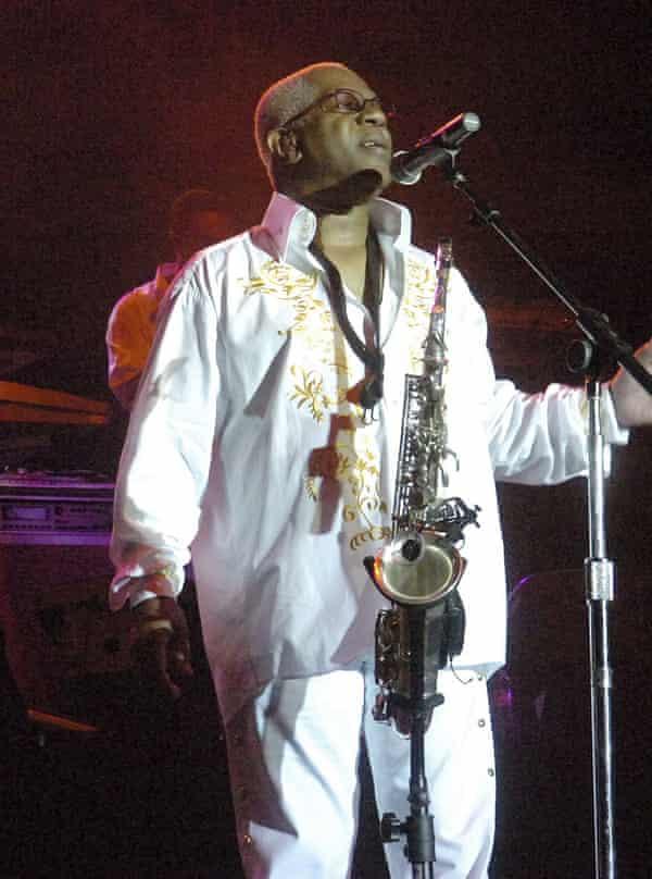 Dennis Thomas performing in 2008.