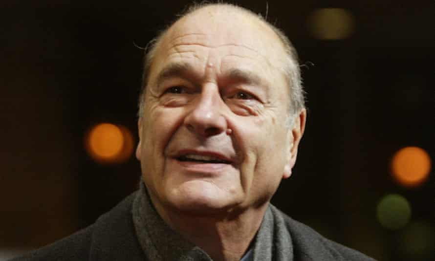 Jacques Chirac in Brussels in 2004.