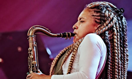 Nubya Garcia performs at North Sea Jazz Festival on Juli 14