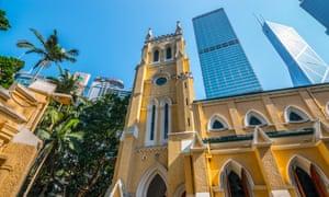 St John's Cathedral, Hong Kong.