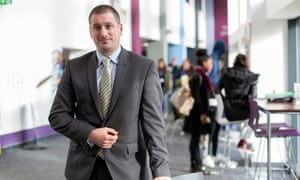 Great Yarmouth College's principal, Stuart Rimmer