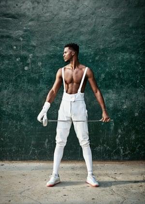 Luis Patterson Arboine, Cuban National Fencing Team. Havana, Cuba