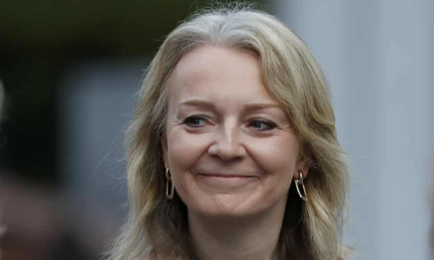 Liz Truss, the international trade secretary.