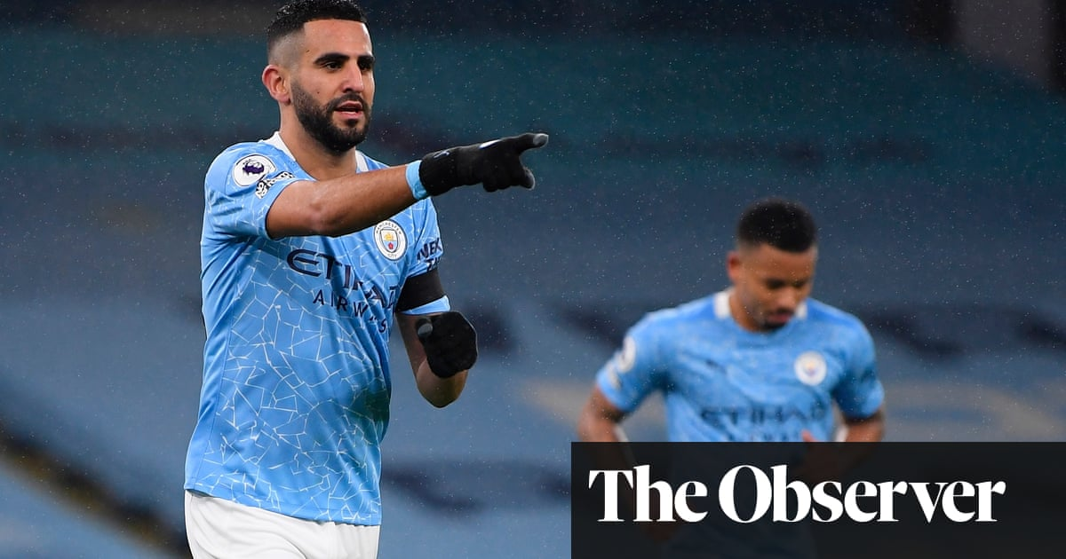 Riyad Mahrez fires hat-trick in Manchester Citys rout of Burnley