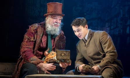 Unfettered imagination … Matthew Kelly, left, and Alistair Toovey in The Box of Delights.