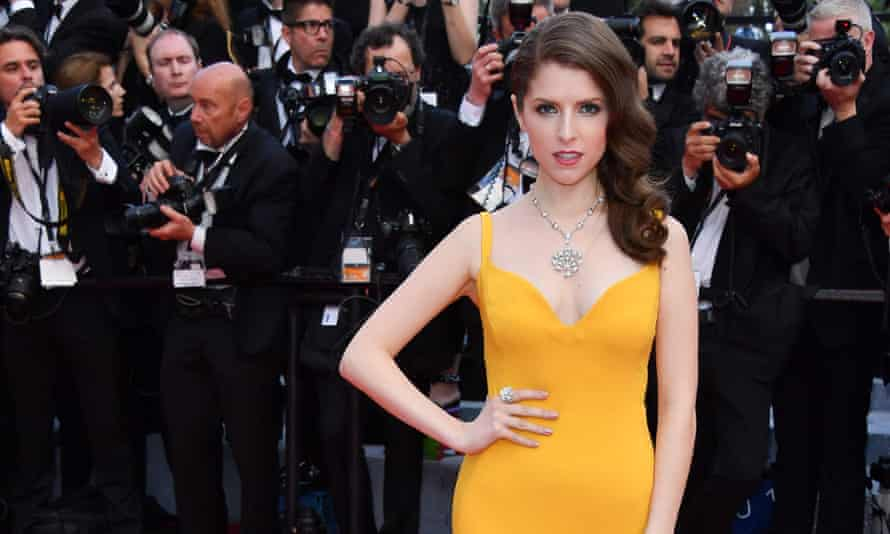 Anna Kendrick in yellow on the Cannes red carpet this week.