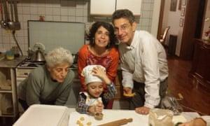 The Gajani Billi family, Biancamaria, her daughter Elena and son Stefano and Stefano's son Milo.