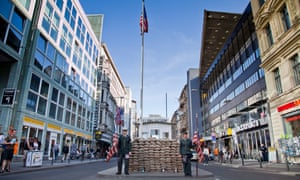 Until a recent ban, performers posed as US soldiers at Checkpoint Charlie, charging tourists for photographs.