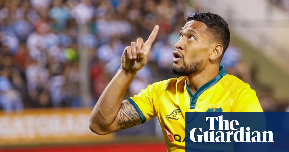 Israel Folau and Australian rugby's moment of reckoning ...