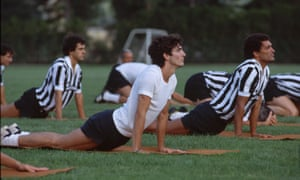 In training with Juventus