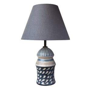 Ceramic table lamp, £140, by Laura Huston, suchandsuch.co