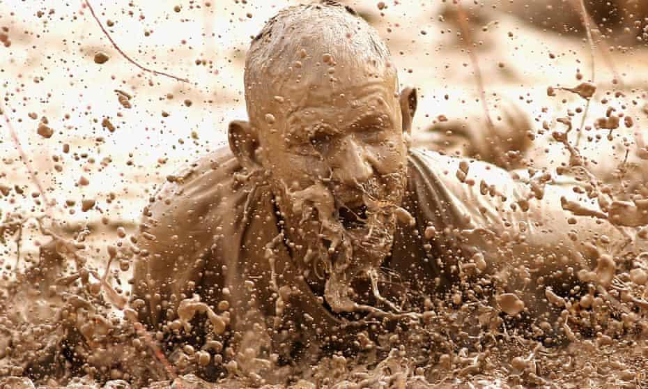 A Tough Mudder participant