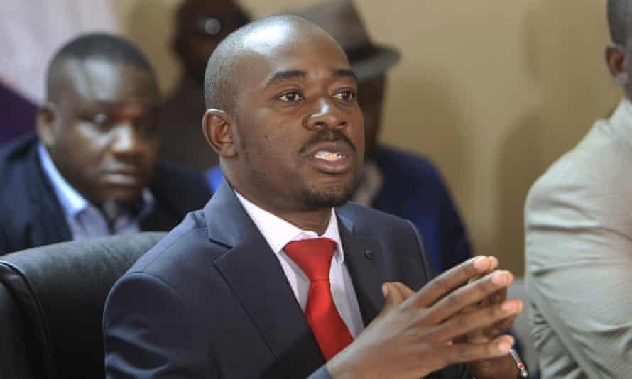 Zimbabwe opposition leader Nelson Chamisa