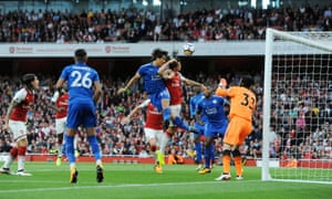 Shinji Okazaki's goal for Leicester at Arsenal would not have counted in previous eras