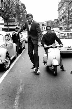 Clint EastwoodAmerican actor and director Clint Eastwood in Via Veneto, Italy in 1965 by Elio Sorci