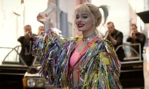 Kick-ass variant on nymphet … Margot Robbie in Birds of Prey.
