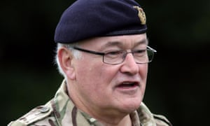 Gen Sir Peter Wall said a failure to increase the defence budget would be a breach of an undertaking given by the prime minister in 2010.