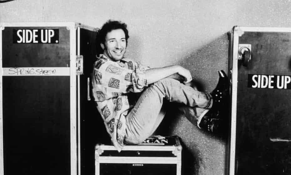 Bruce Springsteen in July 1992.