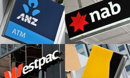 Australia's bank logos