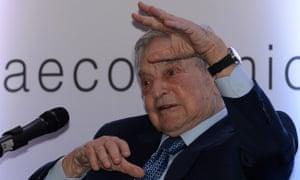 Billionaire George Soros