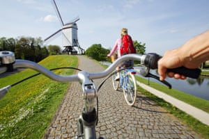 'Flanders is a brilliant place if you like cycling or walking'.