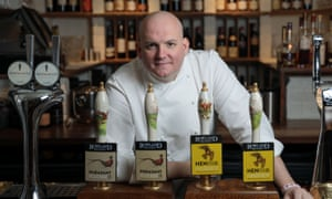 "Steve Smith, chef-owner of Freemasons"" 'It's a village pub.'"
