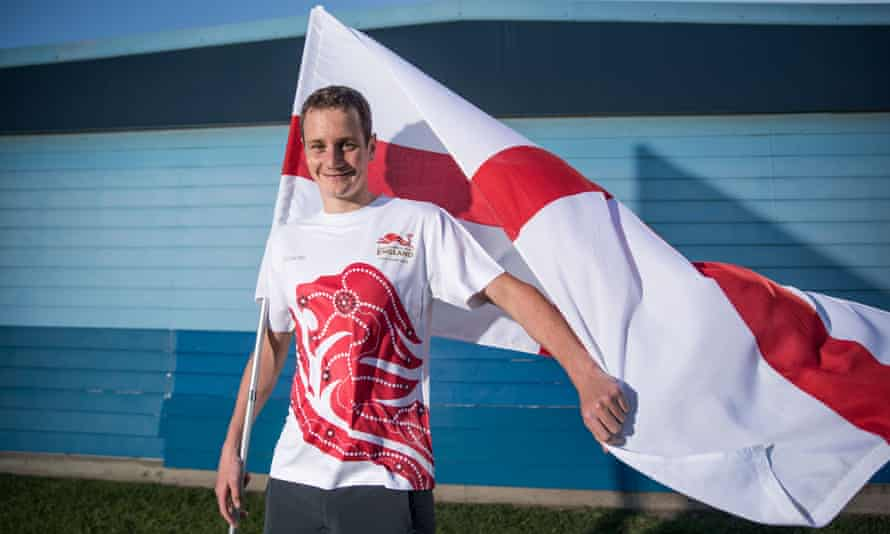 Alistair Brownlee will  be the flag bearer for Team England at the 2018 Commonwealth Games.