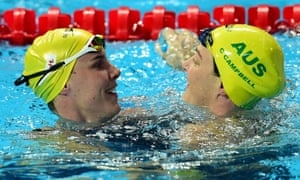 Bronte and Cate Campbell