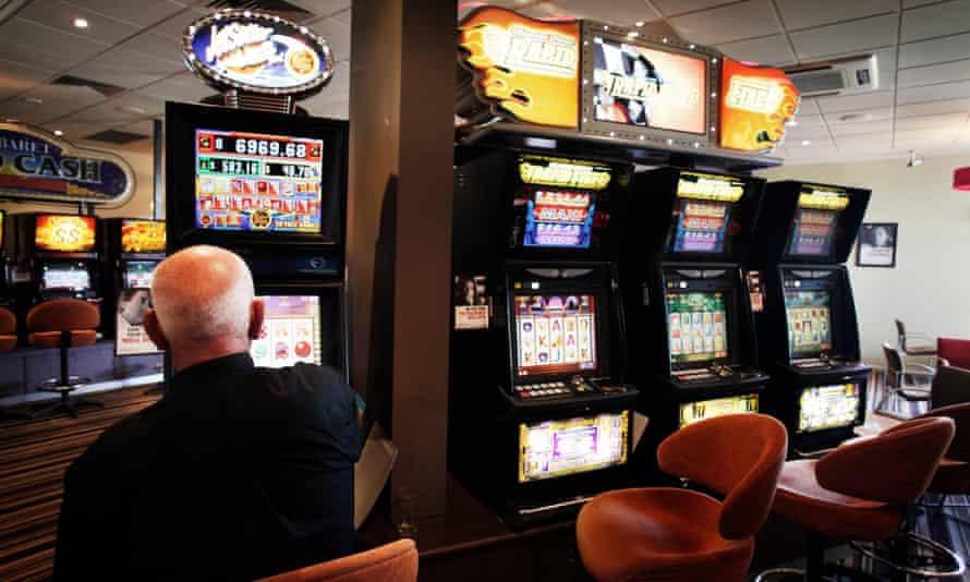 poker machines at a club