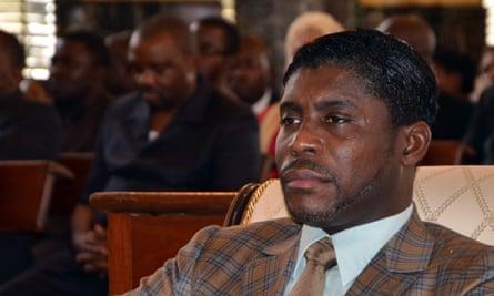 Teodorin Nguema Obiang, the son of Equatorial Guinea's president Teodoro Obiang.
