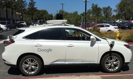 The Self-Driving Lexus that Alex Hern rode in.