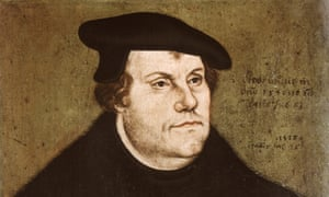 a portrait of Martin Luther circa 1530