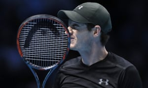 Andy Murray cut a frustrated figure throughout the match, which lasted for more than three hours.