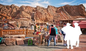 Open-air market in Sharm el-Sheikh