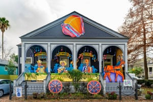 The Acadiana Hay Ride House pays homage to zydeco pioneers Boozoo Chavis and Clifton Chenier and the DL Menard, nicknamed the 'Cajun Hank Williams'
