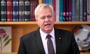 Australian National University vice-chancellor Brian Schmidt
