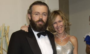Hans and Eva Rausing at a charity event in London, 2003.