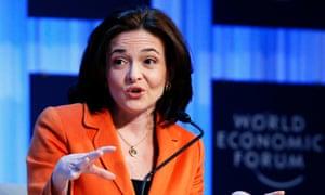 Facebook's Sheryl Sandberg